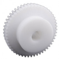 Tandwiel, moduul 1, 70 tanden, materiaal: Delrin